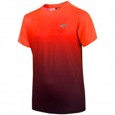 Chlapčenské tréningové tričko Oranžové 4F
