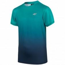 Chlapčenské tréningové tričko Zelene 4F